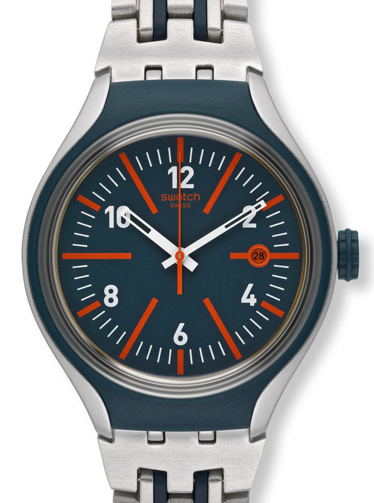 Swatch Irony Xlite Yes4012ag Straight Forward Yes4012ag