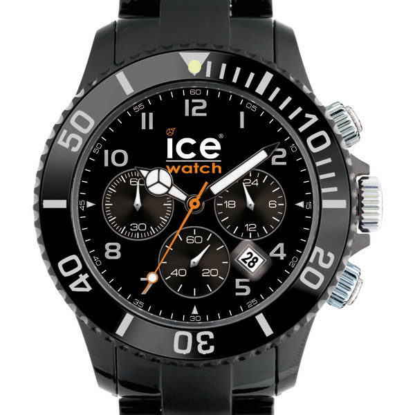 ice watch chrono ch bk b chrono black big ch. Black Bedroom Furniture Sets. Home Design Ideas